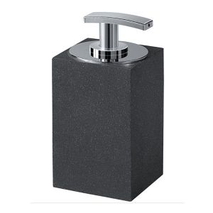 Gedy Minerva Soap Dispenser Anthracite 1280-85
